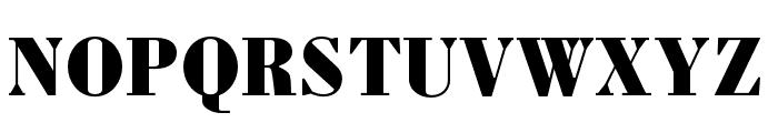 Louvette Deck Black Font UPPERCASE