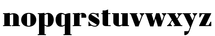 Louvette Deck Black Font LOWERCASE