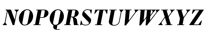 Louvette Deck Bold Italic Font UPPERCASE