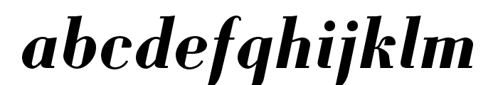 Louvette Deck Bold Italic Font LOWERCASE