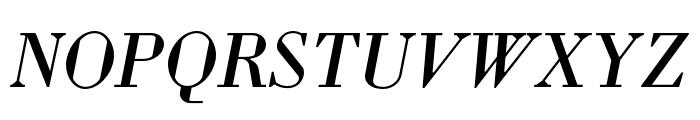 Louvette Deck Italic Font UPPERCASE