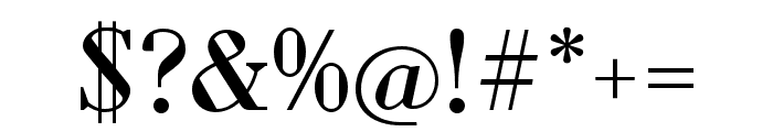 Louvette Deck Regular Font OTHER CHARS