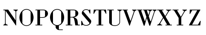 Louvette Deck Regular Font UPPERCASE