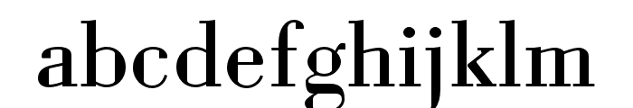 Louvette Deck Regular Font LOWERCASE