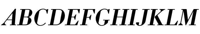 Louvette Deck Semi Bold Italic Font UPPERCASE