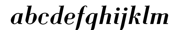 Louvette Deck Semi Bold Italic Font LOWERCASE