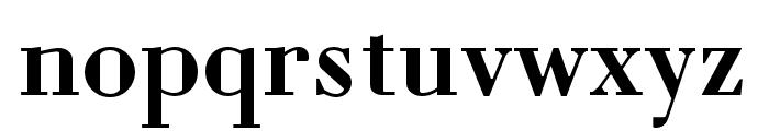 Louvette Deck Semi Bold Font LOWERCASE