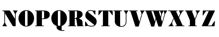 Louvette Deck Ultra Font UPPERCASE
