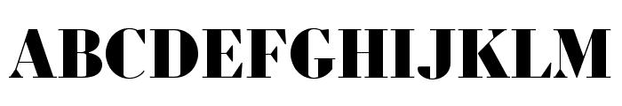 Louvette Display Black Font UPPERCASE