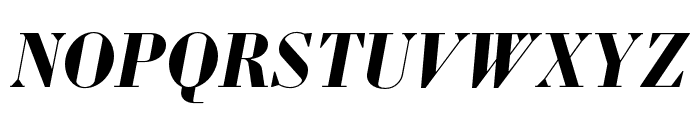 Louvette Display Bold Italic Font UPPERCASE