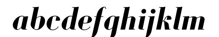 Louvette Display Bold Italic Font LOWERCASE