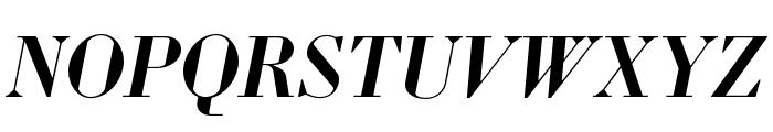 Louvette Display Semi Bold Italic Font UPPERCASE