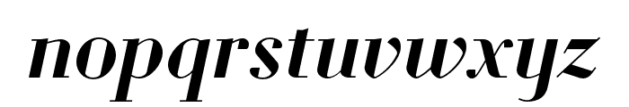 Louvette Display Semi Bold Italic Font LOWERCASE