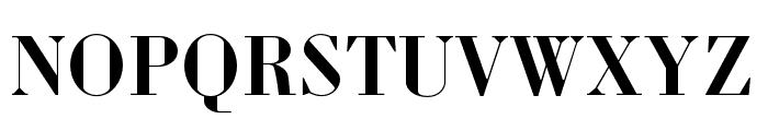 Louvette Display Semi Bold Font UPPERCASE