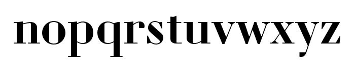 Louvette Display Semi Bold Font LOWERCASE