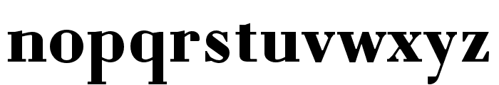 Louvette Text Bold Font LOWERCASE