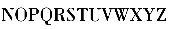 Louvette Text Regular Font UPPERCASE
