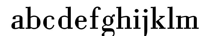 Louvette Text Regular Font LOWERCASE