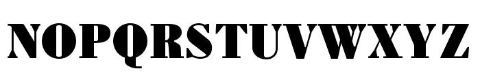 Louvette Text Ultra Font UPPERCASE