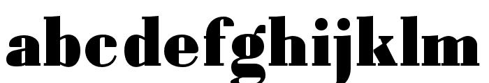 Louvette Text Ultra Font LOWERCASE