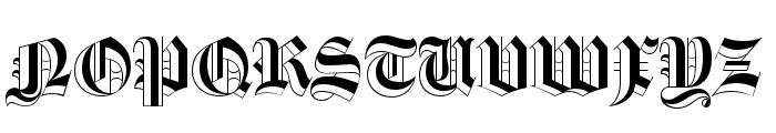 Luke Thick100 Font UPPERCASE