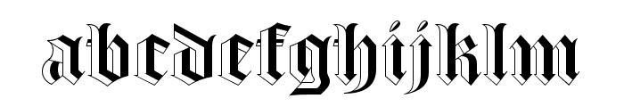 Luke Thick100 Font LOWERCASE