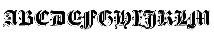 Luke Thick200 Font UPPERCASE