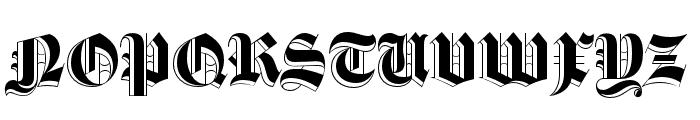 Luke Thick400 Font UPPERCASE