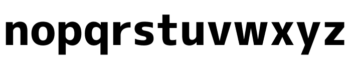 M+ 1c Heavy Font LOWERCASE