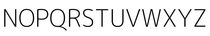 M+ 1c Light Font UPPERCASE