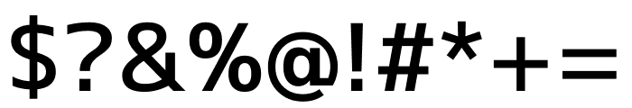 M+ 1c Medium Font OTHER CHARS