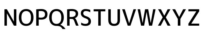 M+ 1c Medium Font UPPERCASE