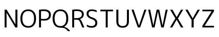 M+ 1c Regular Font UPPERCASE