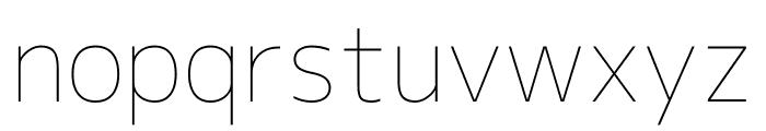 M+ 1c Thin Font LOWERCASE