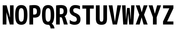 M+ 1m Bold Font UPPERCASE