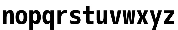 M+ 1m Bold Font LOWERCASE