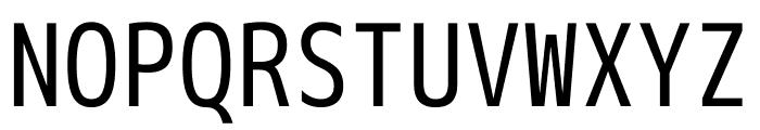 M+ 1m Regular Font UPPERCASE