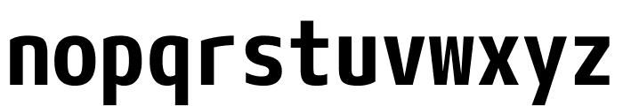 M+ 1mn Bold Font LOWERCASE