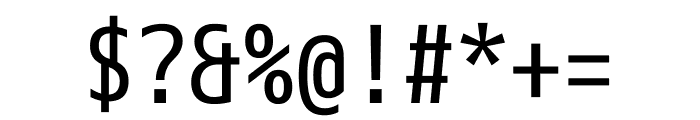 M+ 1mn Regular Font OTHER CHARS
