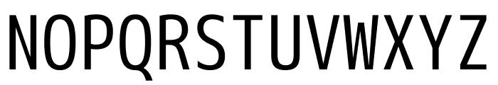 M+ 1mn Regular Font UPPERCASE
