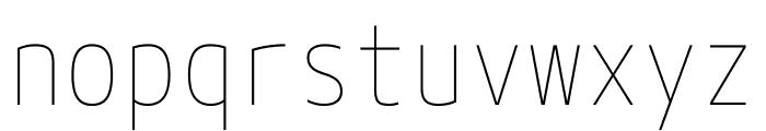 M+ 1mn Thin Font LOWERCASE