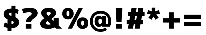 M+ 1p Black Font OTHER CHARS