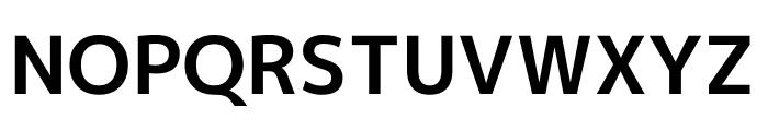 M+ 1p Bold Font UPPERCASE