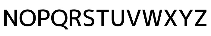 M+ 1p Medium Font UPPERCASE