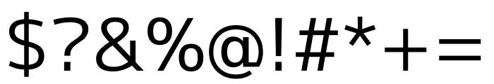 M+ 1p Regular Font OTHER CHARS