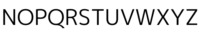 M+ 1p Regular Font UPPERCASE