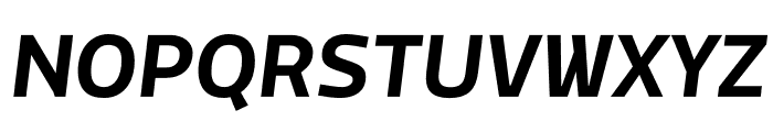 MachoModular Bold Italic Font UPPERCASE