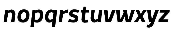 MachoModular Bold Italic Font LOWERCASE