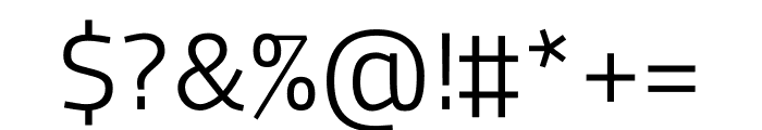 MachoModular Light Font OTHER CHARS