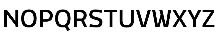 MachoModular Medium Font UPPERCASE